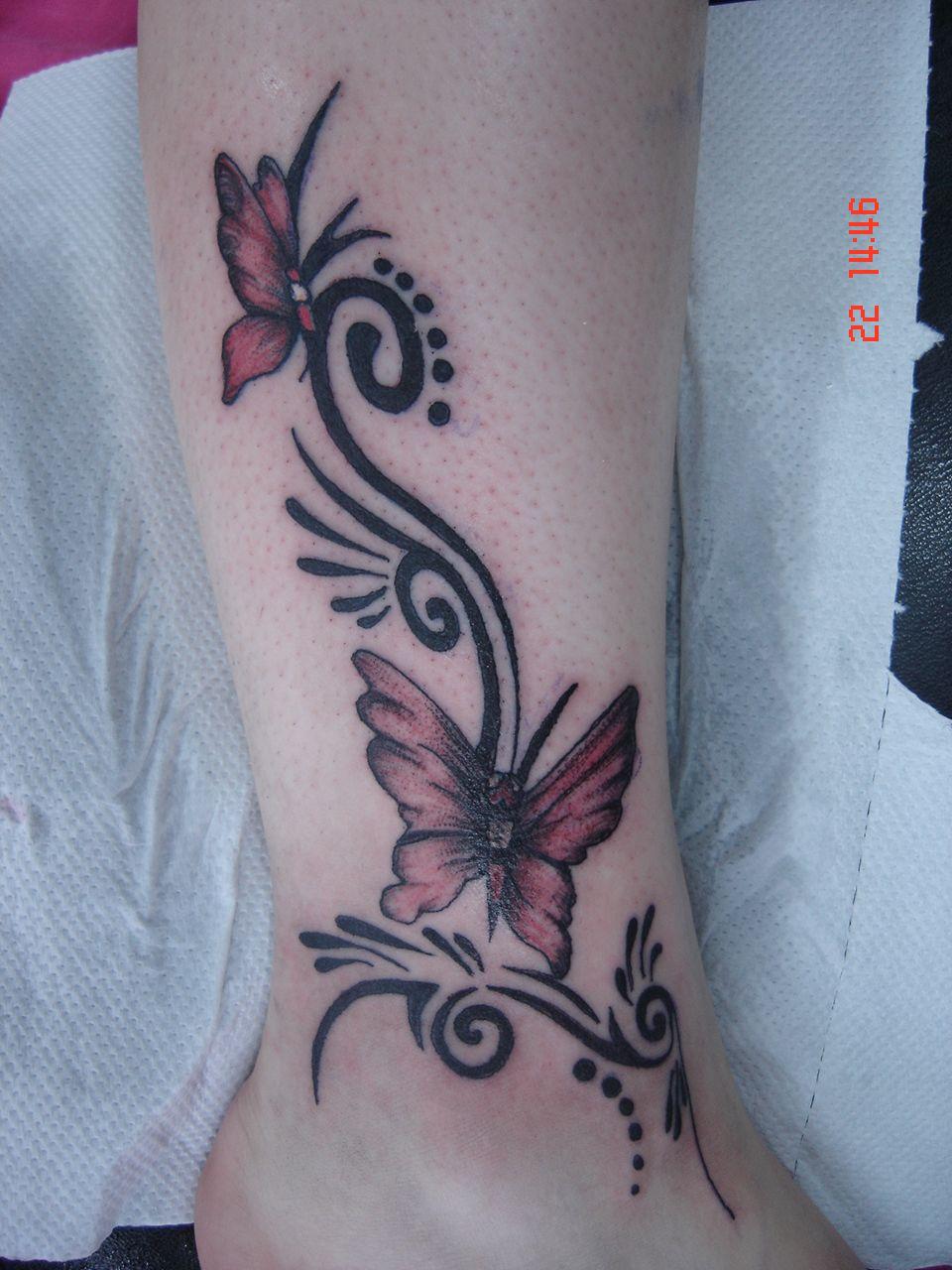 Dessin Tatouage Mollet Femme Kolorisse Developpement